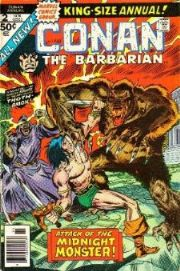 Conan The Barbarian Annuals